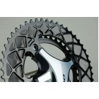 AbsoluteBlack premium OVAL ROAD 110/4 BCD chainring 52/36T