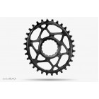 absoluteBLACK OVAL cinch traction chainring for Race Face